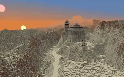 Visit Scenic Tatooine and Coruscant from 'Star Wars' … in Minecraft!