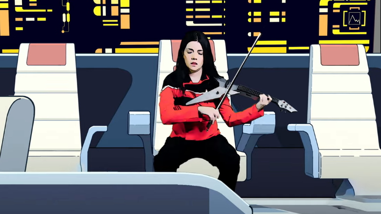Video of the Day: VioDance's Cover of 'Star Trek: Lower Decks' Theme