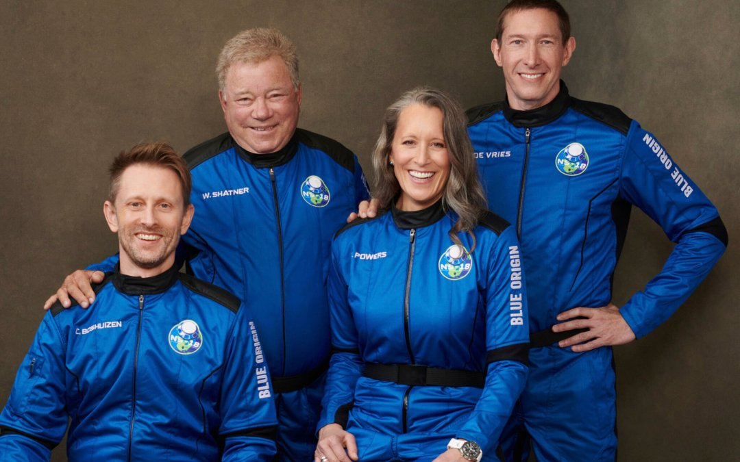 William Shatner Goes to the Edge of Space Aboard New Shepard NS-18