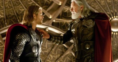 Chris Hemsworth and Sir Anthony Hopkins