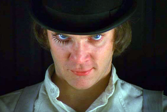 Lucky Us: Meeting Malcolm McDowell