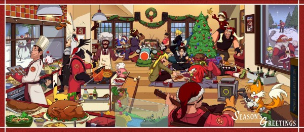 Video Games Celebrate the Holidays Too