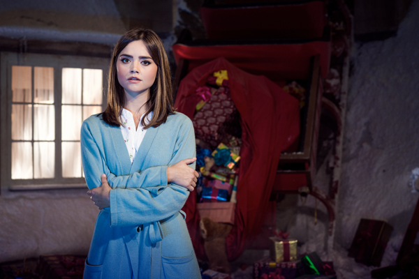 Jenna Coleman Staying with DOCTOR WHO