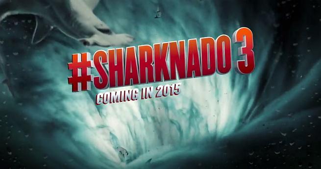 SHARKNADO 3 Gets Title & Release Date In Spite of Strike