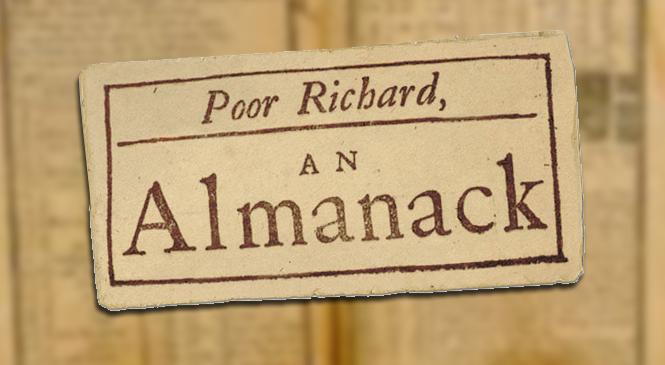 USA Orders Pilot for POOR RICHARD'S ALMANACK