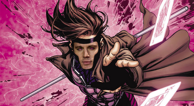 Channing Tatum Closes Deal on GAMBIT