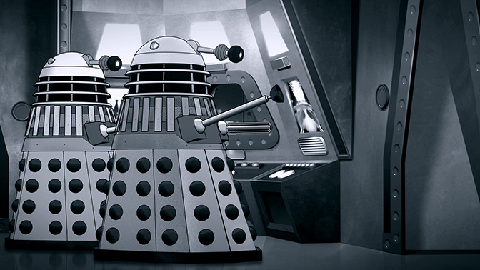 POWER OF THE DALEKS To Hit the Big Screen