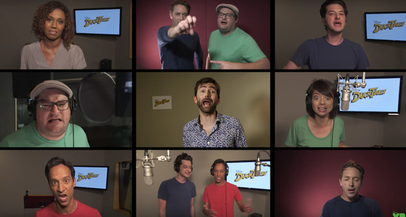 DUCKTALES Promotional Video Announces Cast While Singing Theme Song