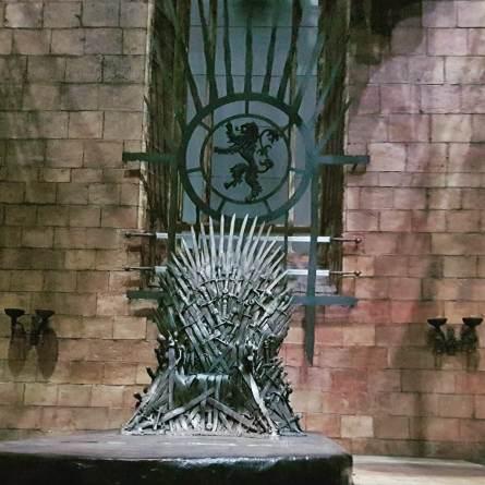 O Leão dos Lannister agora está acima do Trono de Cersei