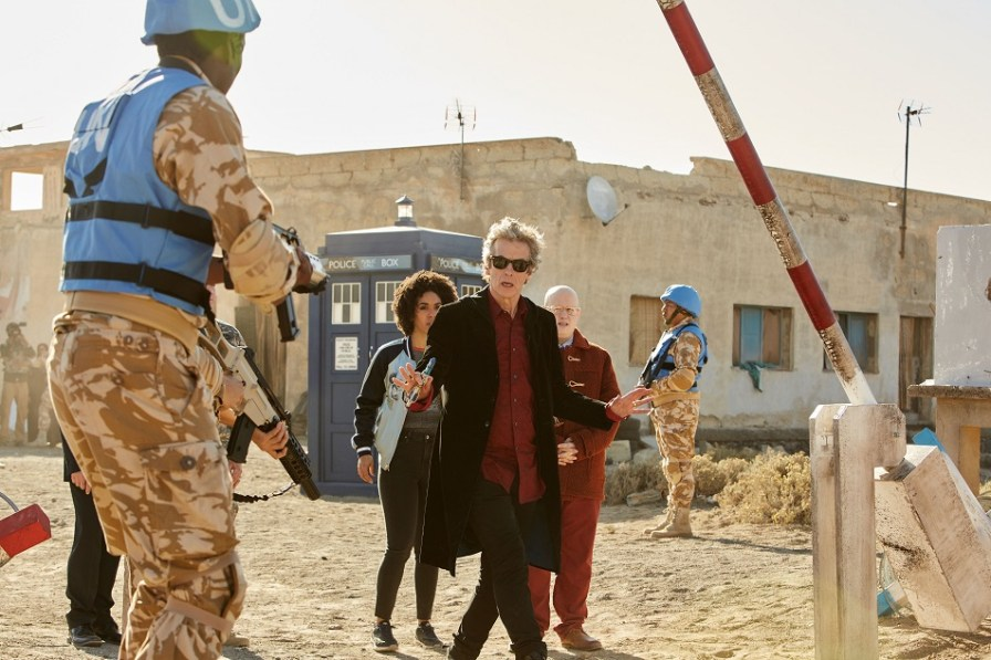 Doctor Who S10 Ep7 The Pyramid At The End Of The World