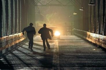 Sam and Dean run from a driverless Impala.