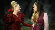 The Red Queen lies to Alice.