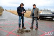 Sam and Dean prepare to make a deal with a crossroads demon.
