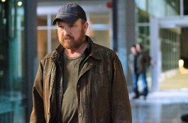 Bobby Singer turns up as a ghost.