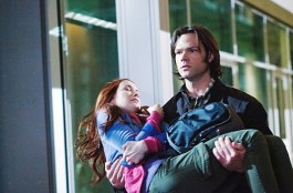 Sam rescues Charlie.