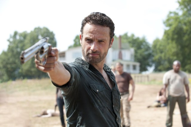 Rick Grimes (Andrew Lincoln). Picture Credit: PA Photo/Gene Page/AMC.