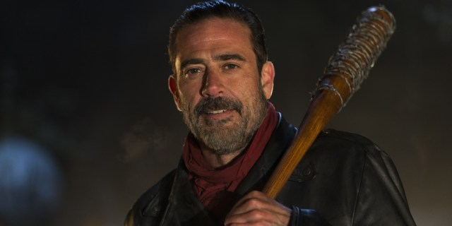 The Walking Dead Season 6 Finale - Negan (Jeffery Dean Morgan) - Credit: Inverse.com