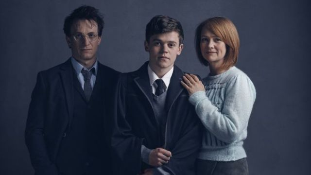 The first pictures of Harry Potter, Ginny Potter and their youngest son Albus Severus Potter. Credit: bbc.com