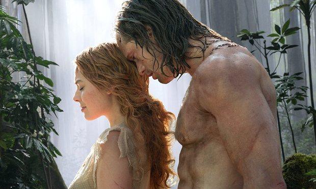 Margot Robbie and Alexander Skarsgård in The Legend of Tarzan (2016). Credit: Guardian.com
