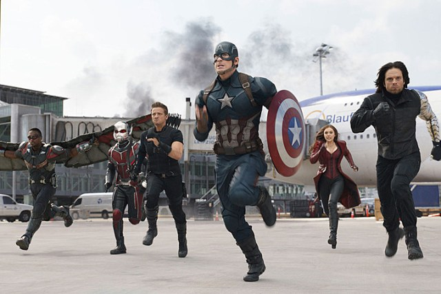 Captain America, Hawkeye, Antman and Scarlet Witch. Credit: Screen Crush