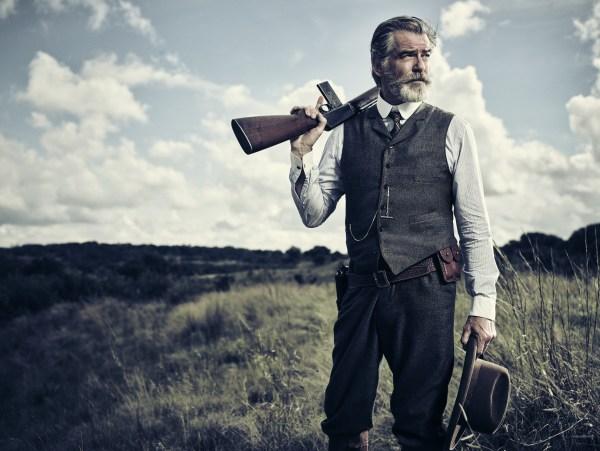 Pierce Brosnan as Eli McCullough in The Son Photo Credit: James Minchin/AMC