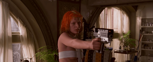 The Fifth Element - Milla Jovovich as Leeloo
