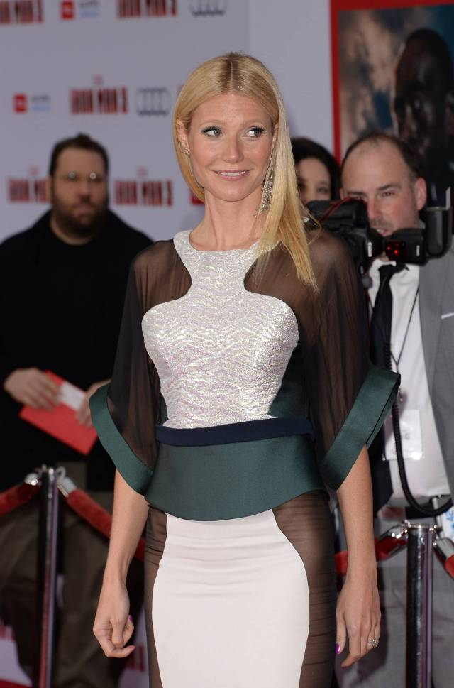 Gwyneth Paltrow Iron Man 3 premiere