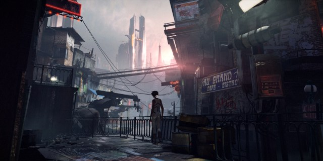 Remember Me - first view of Neo-Paris from the sewers Remember Me PC Review!