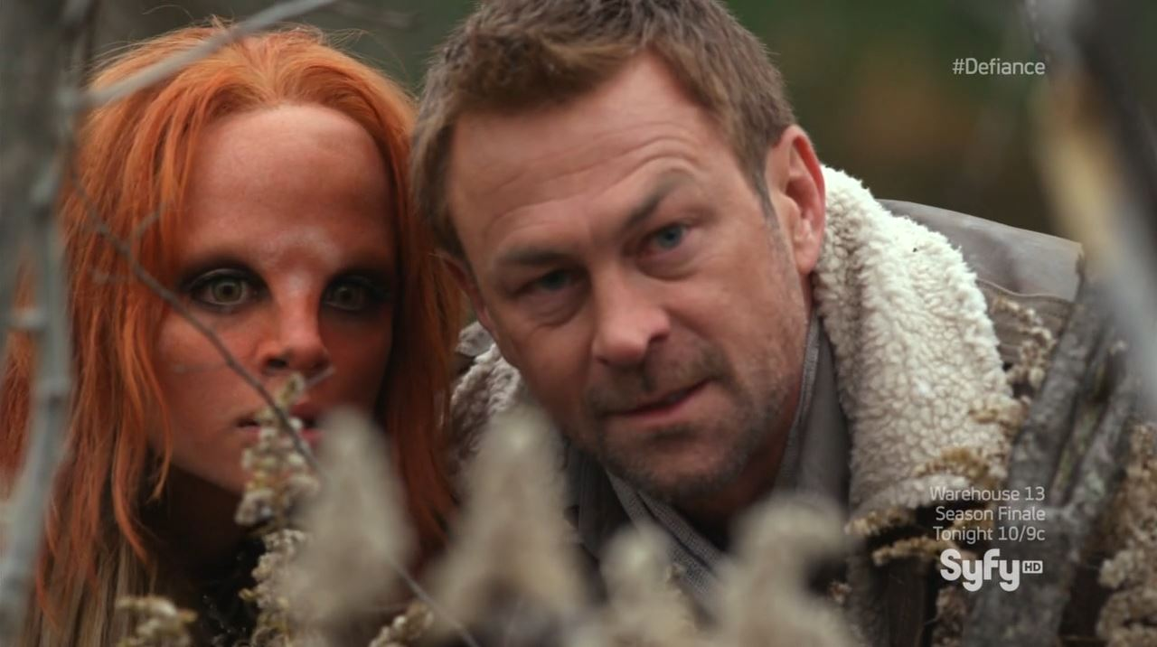 Defiance - Nolan and Irisa - Defiance season finale 'Everything is Broken' review