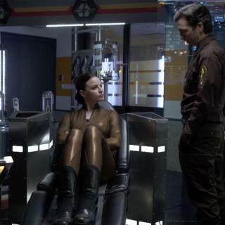 Rachel Nichols as Kiera Cameron in 2077 - Continuum Second Guess