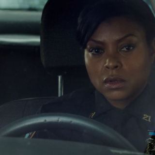 Detective Carter (Taraji P. Henson) following Price - Person of Interest