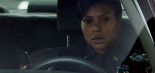 Detective Carter (Taraji P. Henson) following Price - Person of Interest