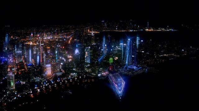Almost Human - Perception - Future Los Angeles