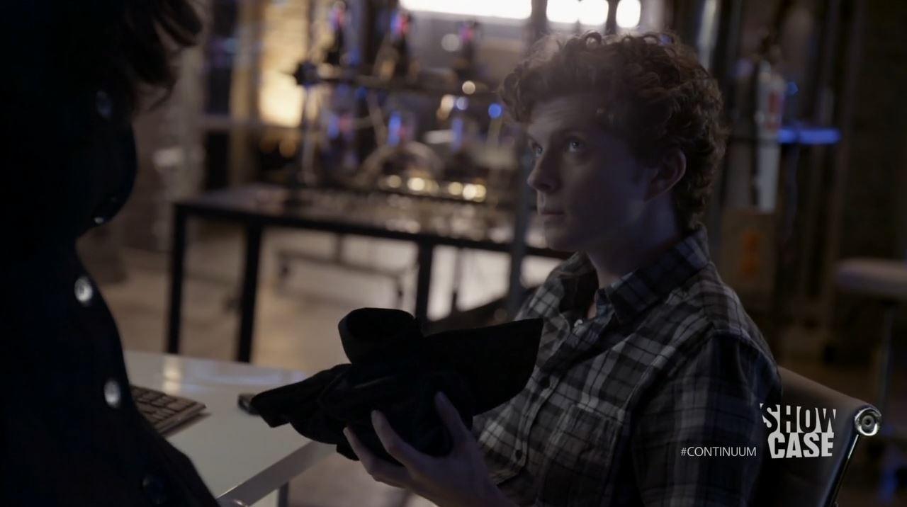Continuum Season 3 - Minute Man - Erik Knudsen as Alec Sadler