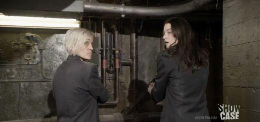 Continuum season 3 - minute to minute - Garza and Kiera try to escape