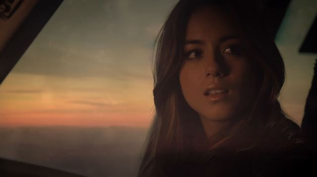 Agents of SHIELD - 'The Only Light in the Darkness' - Skye flying away with Ward