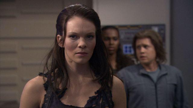 Enterprise season 4 Blu ray review - Female augment