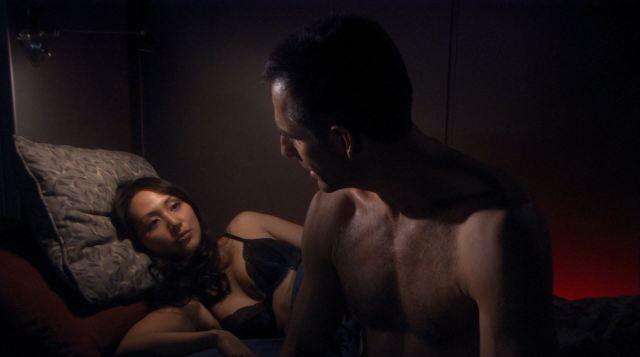 Enterprise season 4 Blu ray review - Linda Park in bra as hoshi sato
