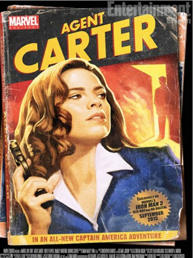 Agent Carter Series Premiere Review poster with Hayley Atwell