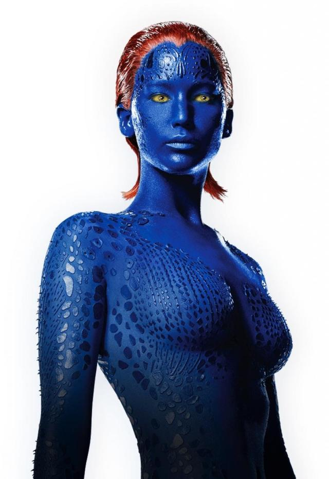 Summer Blockbuster you should avoid Jennifer Lawrence topless as Mystique in X-men Days of Future Past