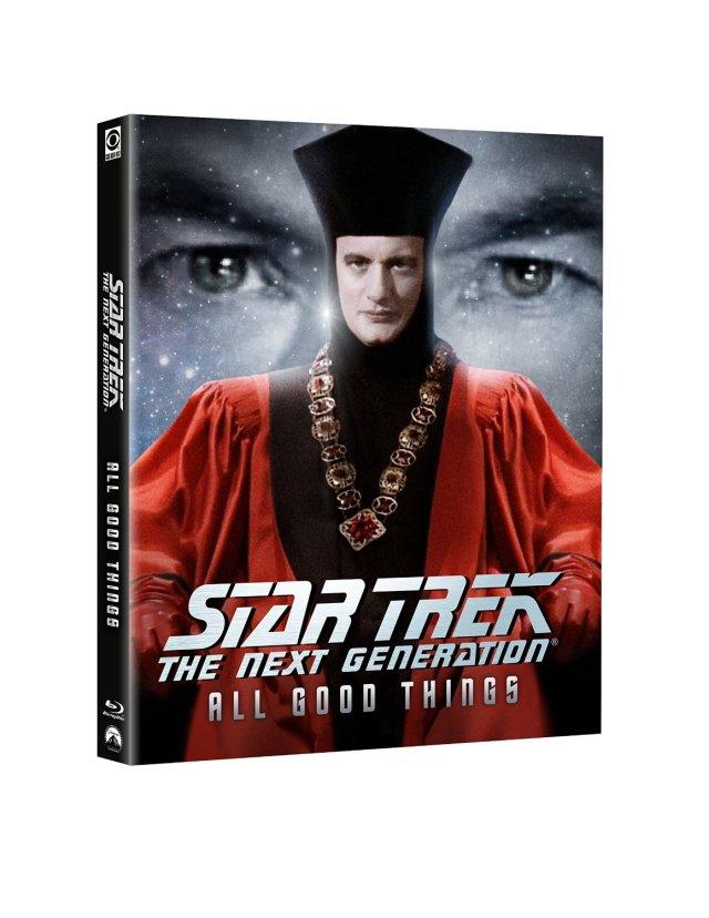 Star Trek TNG All Good Things Blu-ray cover Star Trek TNG Season 7 Blu-Ray Trailer