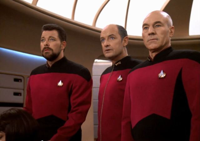 Star Trek TNG Season 7 Blu-Ray Trailer - pegasus Picard and Riker