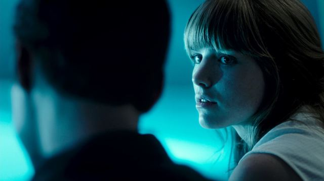 Syfy Ascension Night One Review - Jacqueline Byers as Nora Bryce