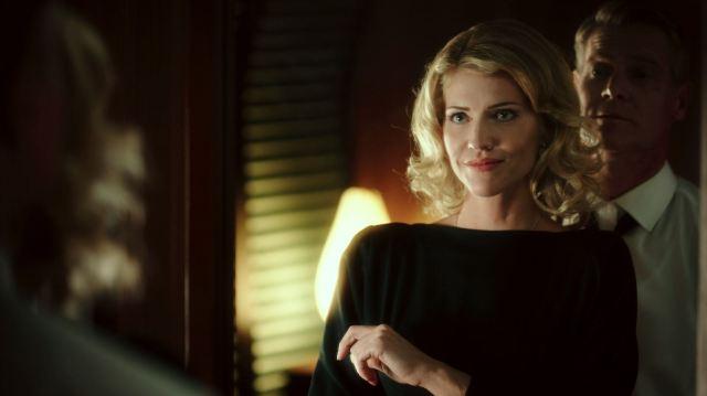Syfy Ascension Night One Review - Tricia Helfer as Viondra Denninger