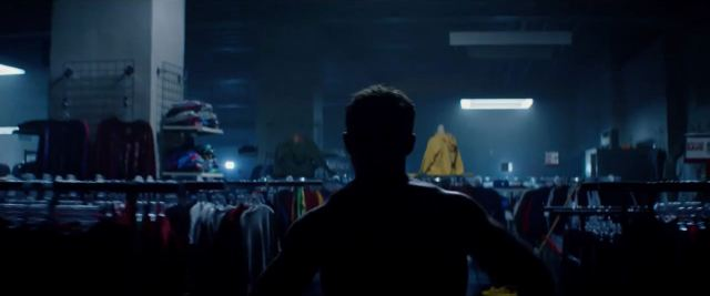 Terminator Genisys Kyle Reese in 1984 department store