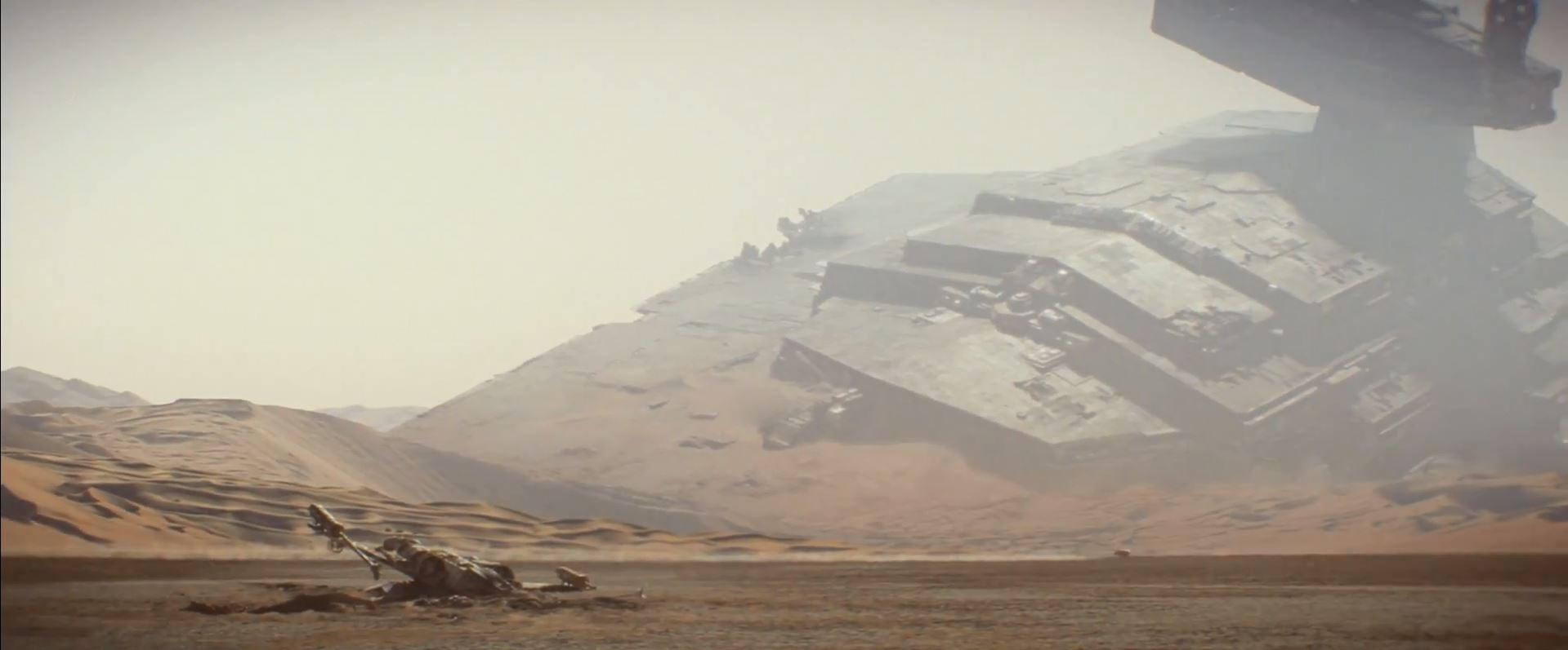 Crashed Star Destroyer on Tatooine