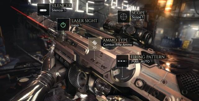 Deus Ex Mankind Divided trailer and screenshots revealed. Jensen assault rifle.