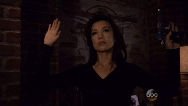 May surrenders. Agents of SHIELD S2Ep15 'One Door Closes' Review