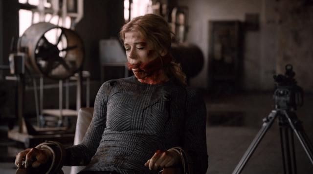 Bobbi Morse shot. Agents Of SHIELD Season 2 Finale Review.