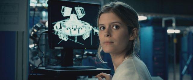 Kate Mara as Susan Storm (Invisible Woman) - Fantastic Four Preview